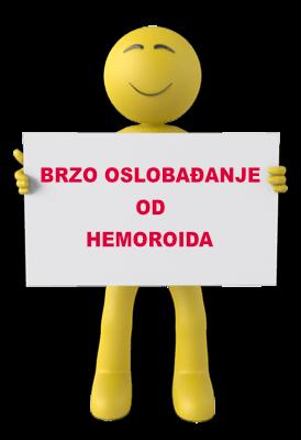 Brzo oslobođenje od hemoroida